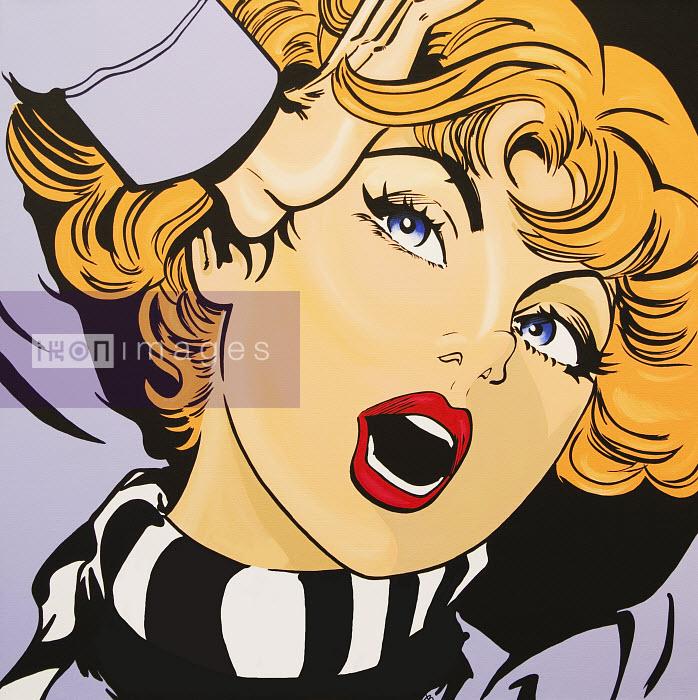 Screaming, blonde woman - Screaming, blonde woman - Jacquie Boyd