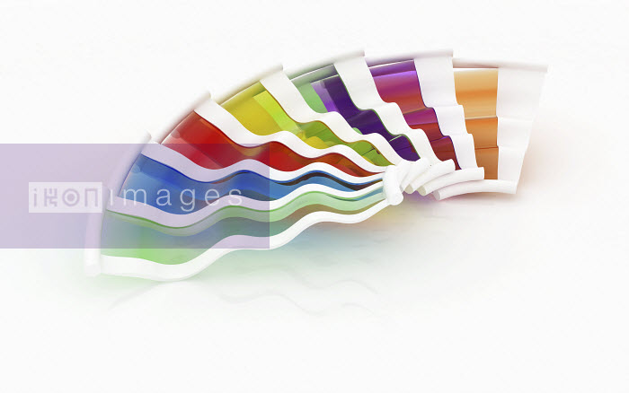 Multicolored color swatch - Multicolored color swatch - K3