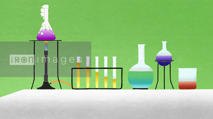 Different chemicals in lab - Different chemicals in lab - Nick Purser