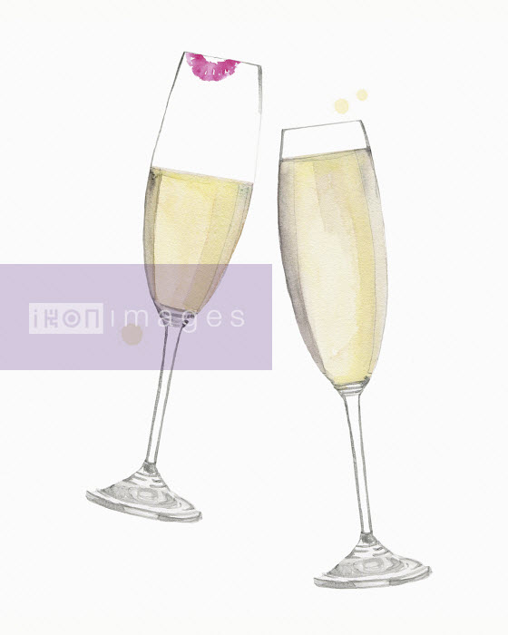 Dena Cooper - Champagne glasses clinking in toast