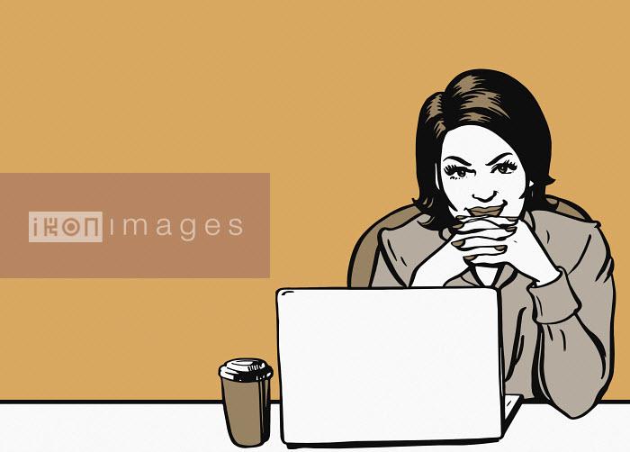 Businesswoman taking a break Jacquie Boyd