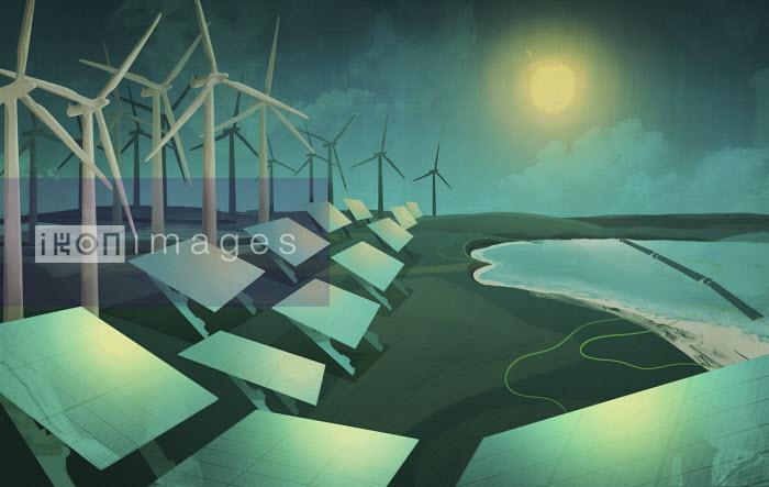 Darren Hopes - Renewable energy production along coastline