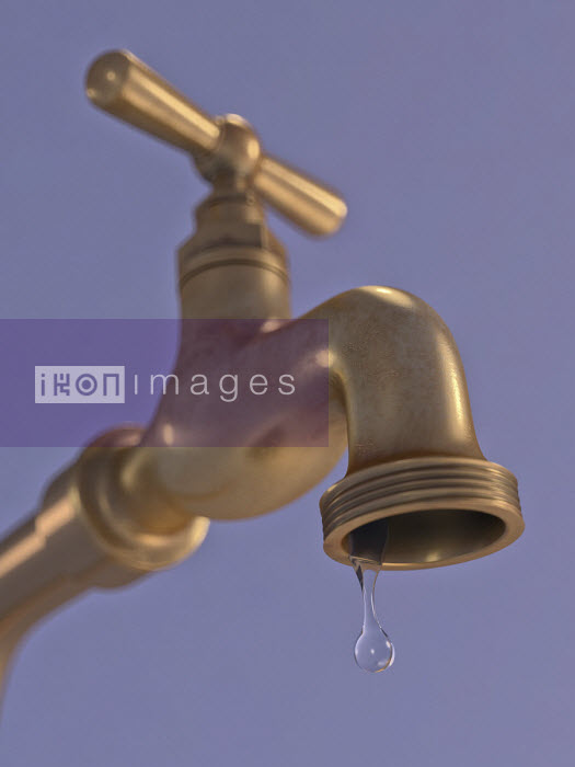 Ian Cuming - Water dripping from tap