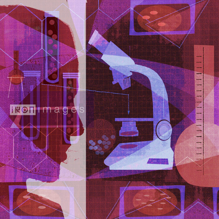 Donna Grethen - Scientific research collage
