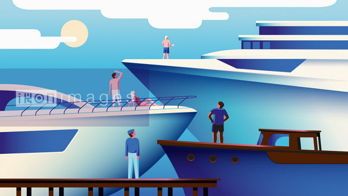Hierarchy of people envying larger yachts Harry Haysom