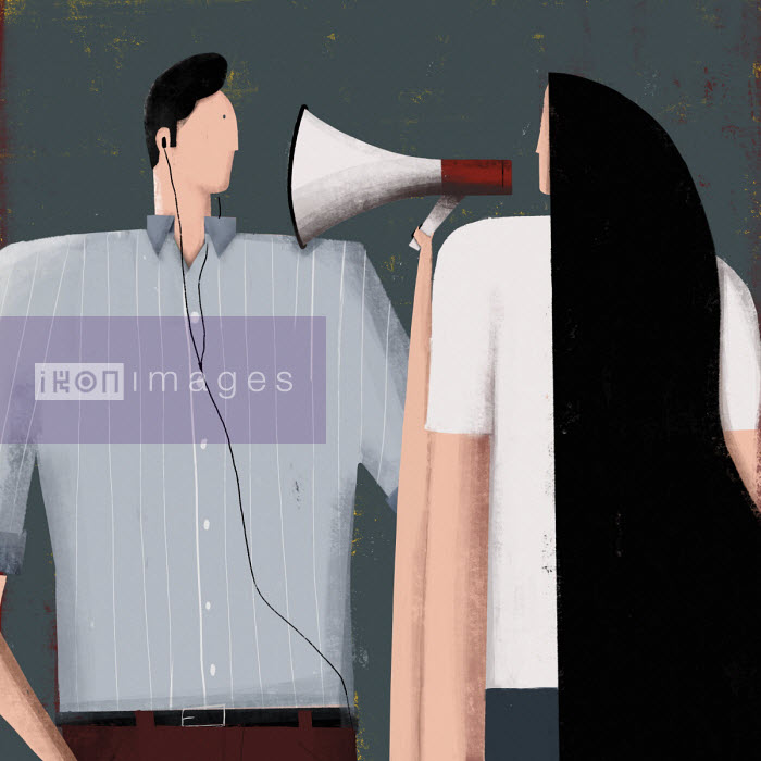 Josep Serra - Couple with communication problems
