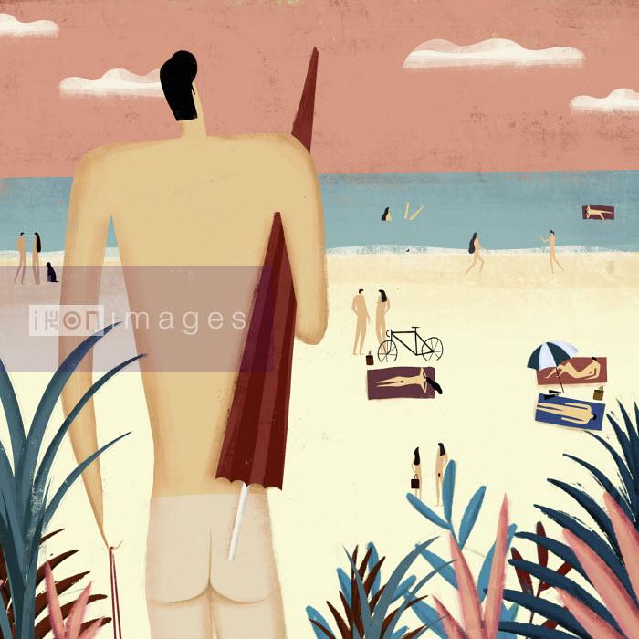 Pepe Serra - Nudist beach