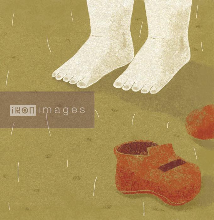 Bare feet in the rain - Tommaso D'Incalci