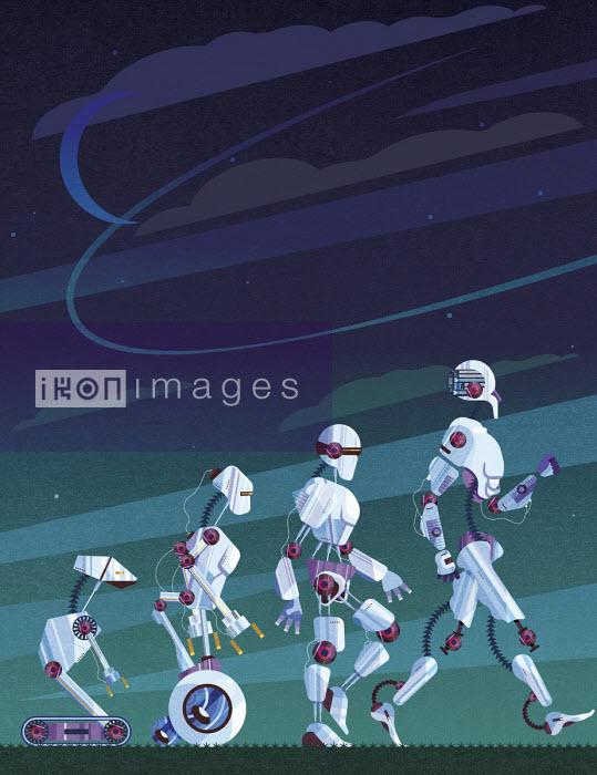 Evolution of robots - James Boast