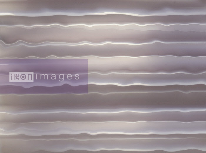 Full frame abstract of rippled folded paper - Gary Waters
