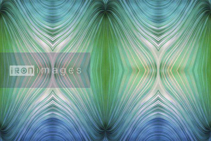 Vicky Vougiouka - Symmetrical abstract background pattern