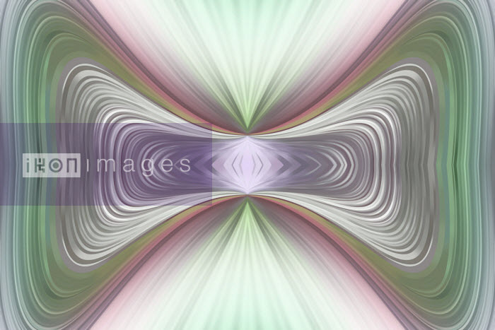 Vicky Vougiouka - Symmetrical distorted abstract background pattern