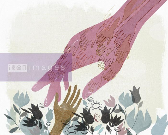 Helping hands - Donna Grethen