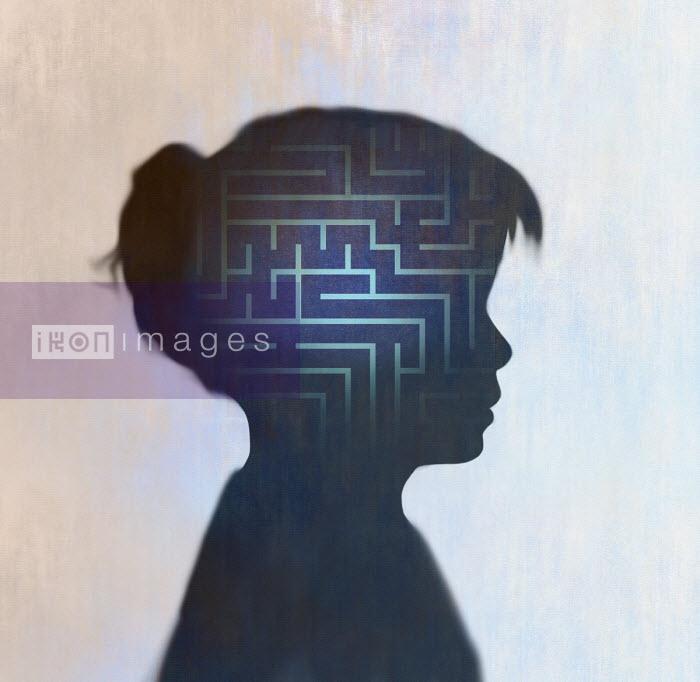 Gary Waters - Maze inside of girl's head