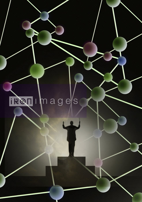 Conductor conducting molecular structure - Gary Waters