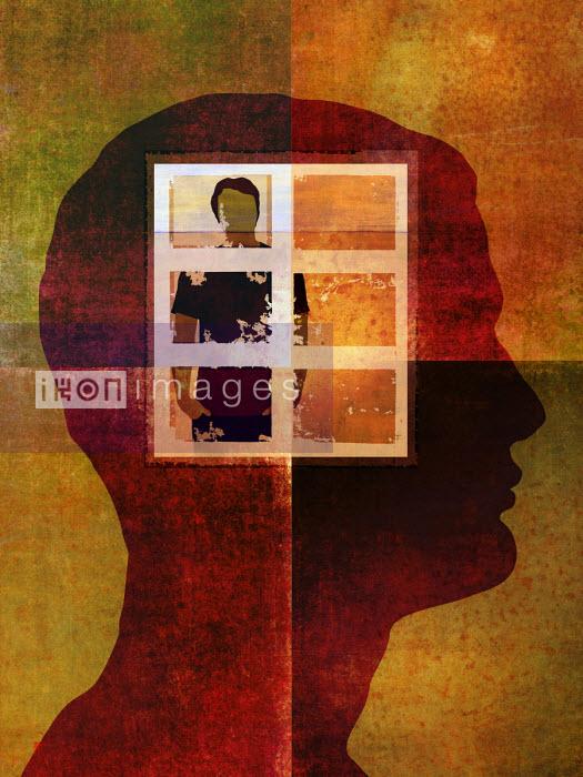 Roy Scott - Man trapped behind window in head