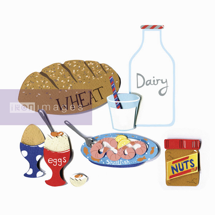 Vicky Scott - Allergy foods