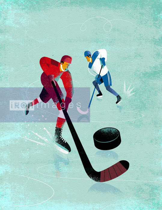 Ice hockey players - Jens Magnusson