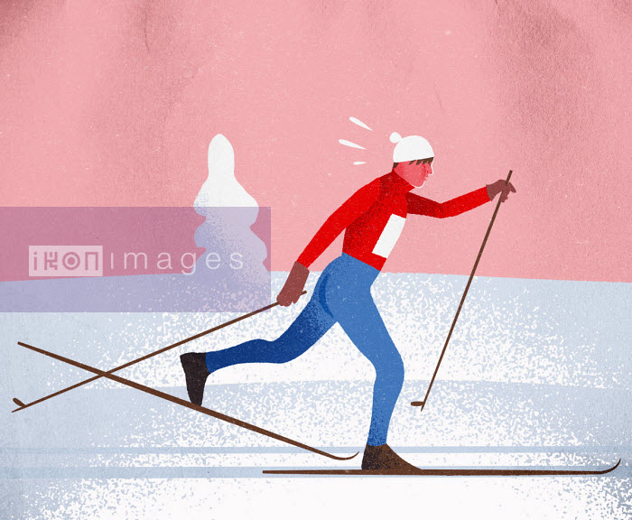 Jens Magnusson - Cross country skier