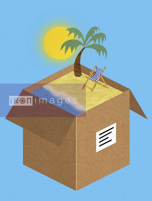 Seaside package holiday