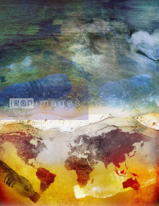Global problem of plastic pollution in ocean - Roy Scott