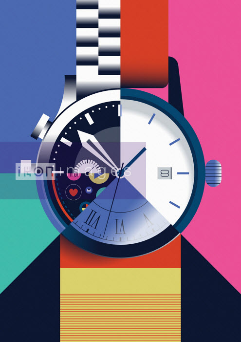 Jamie Jones - Different watches forming single wrist watch
