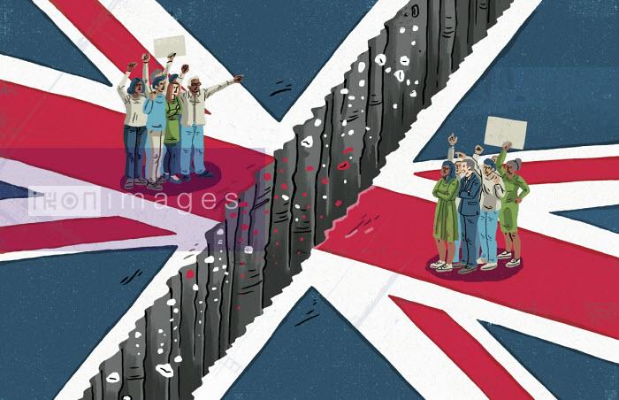Divided Britain - Eva Bee