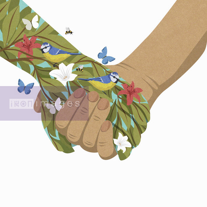 John Holcroft - Holding hand of nature
