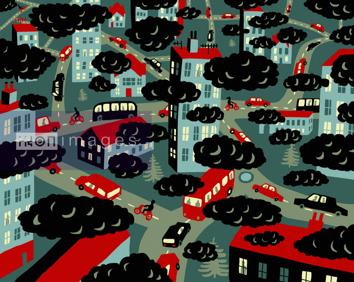 Air pollution from city traffic - Oivind Hovland