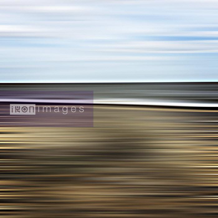 Studio Parris Wakefield - Motion blur abstract coastline