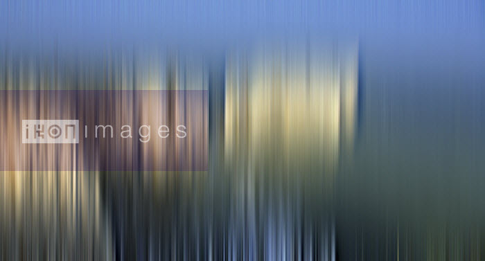 Abstract blurred cliff coastline - Studio Parris Wakefield