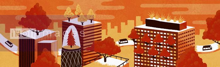 Sam Brewster - Futuristic green city