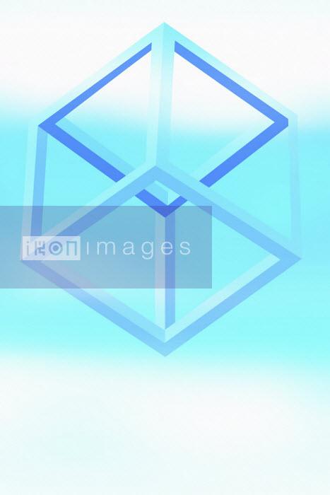 Three dimensional cube frame - Vicky Vougiouka