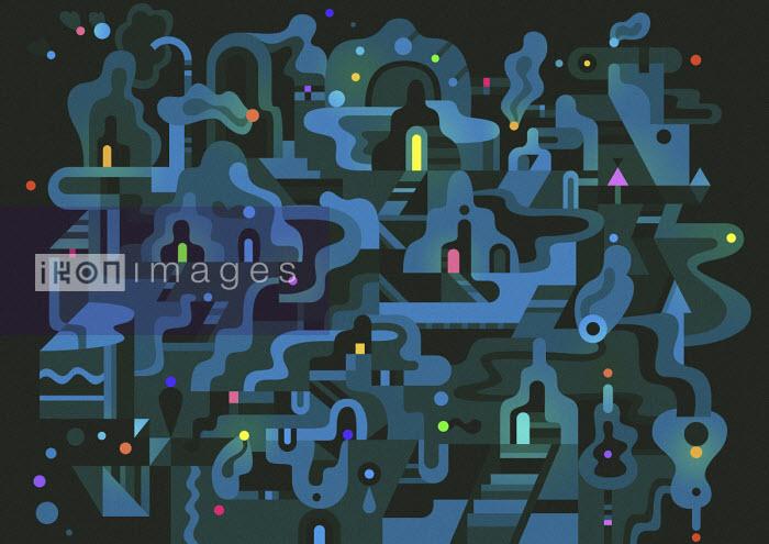 Matt Lyon - Abstract doorway pattern