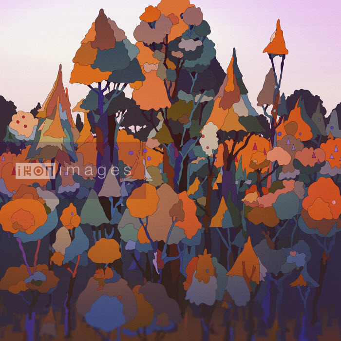 Matt Lyon - Treetop pattern