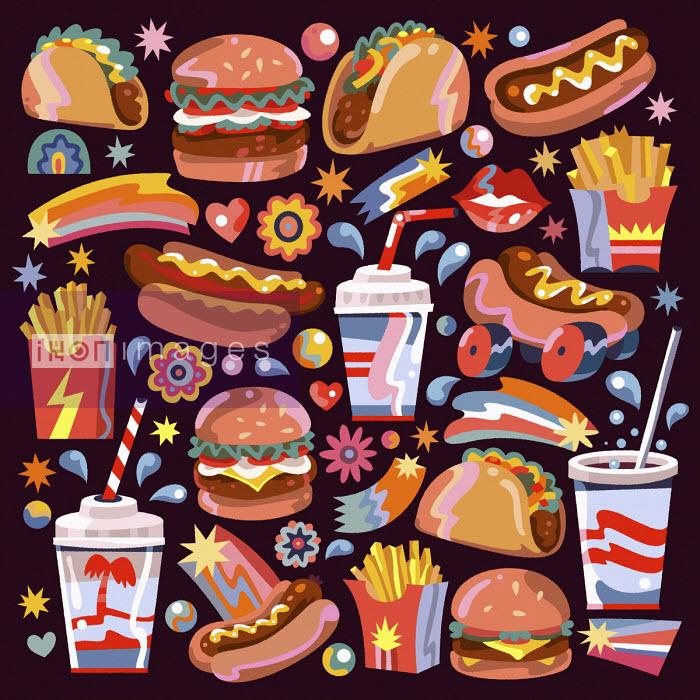 Matt Lyon - Lots of different fast food