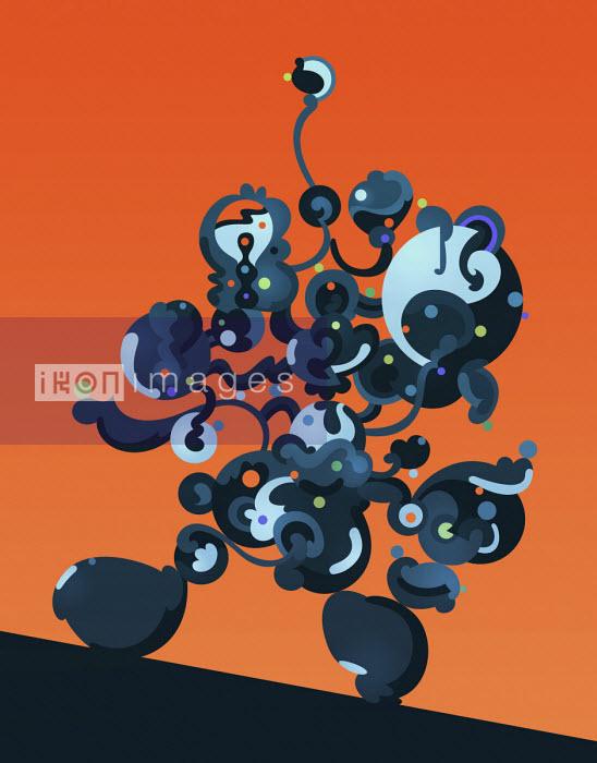 Robotic blobs in motion - Matt Lyon