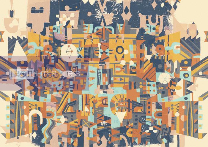 Matt Lyon - Chaotic abstract pattern