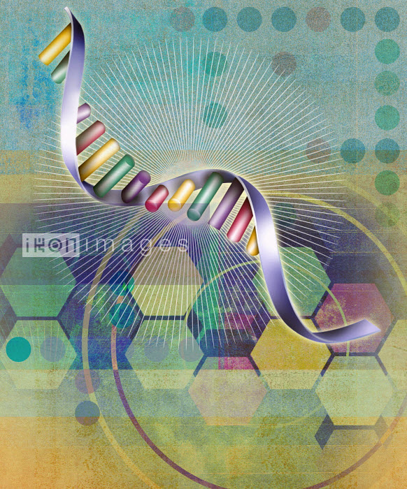Roy Scott - Helix and abstract pattern