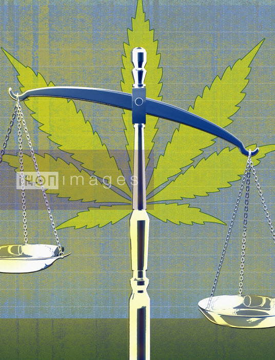 Roy Scott - Marijuana and scales of justice