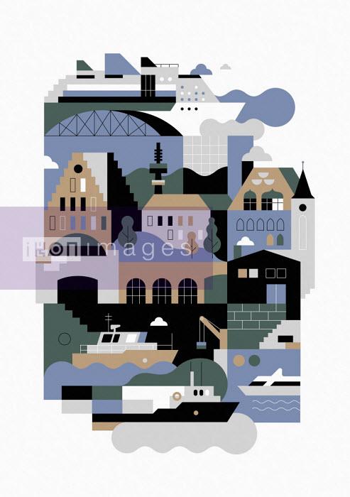 Hamburg graphic - Koivo