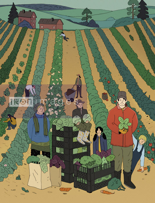 Maxim Usik - Community growing fruit and vegetables together