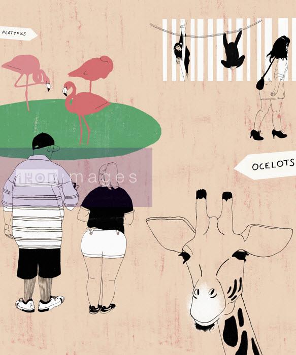 Rosie Scott - People at zoo