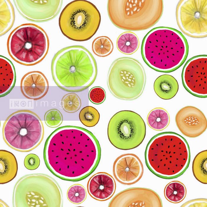 Stephanie McKay - Lots of fruit cut in half