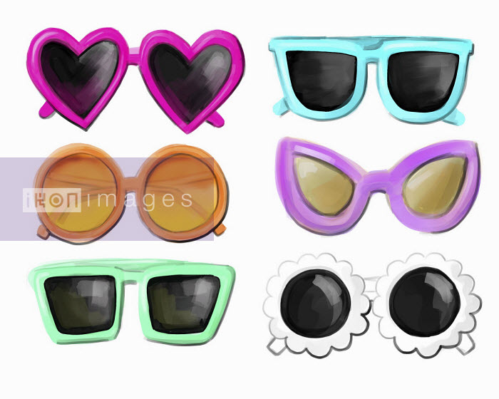 Stephanie McKay - Range of fun sunglasses