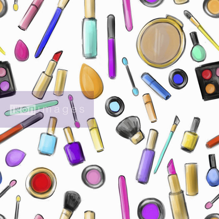 Collection of makeup items - Stephanie McKay