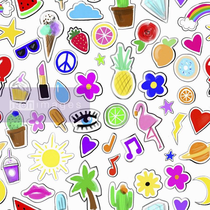 Teenage girl's stickers - Stephanie McKay