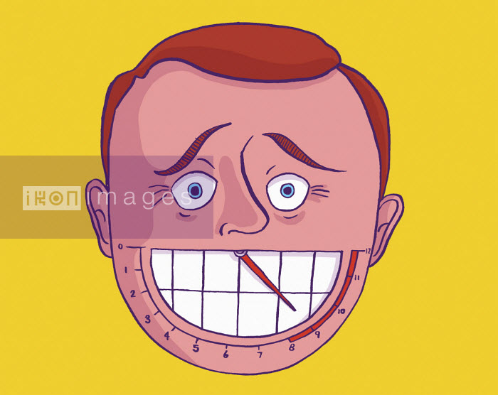 Gauge on man's smile - Dom McKenzie