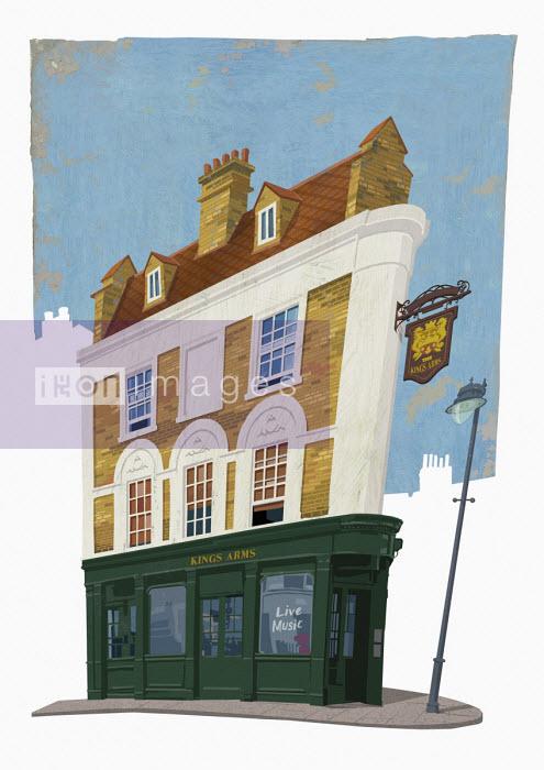 Andy Bridge - Facade of traditional british pub