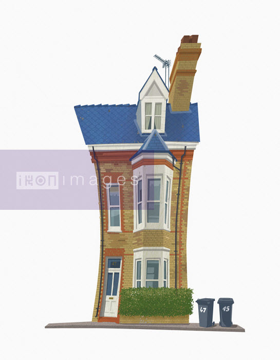 Squeezed house - Andy Bridge